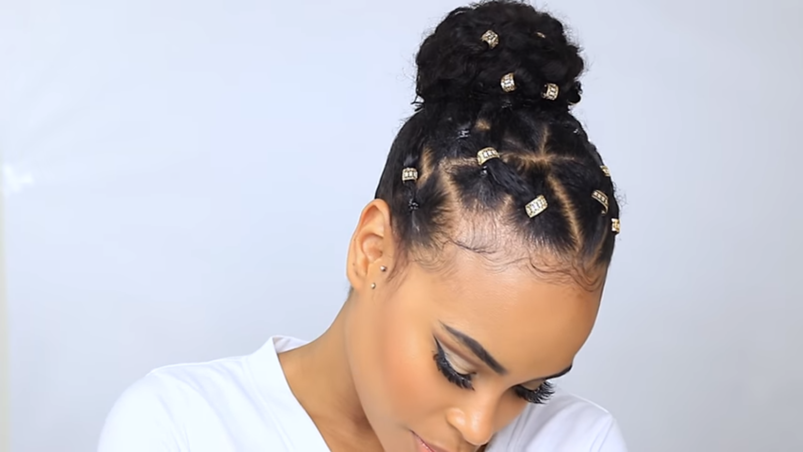 natural hair style for bad hair days