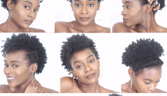 8 Easy Protective Hairstyles For Short Natural 4C Hair That Will Not Damage Your Edges
