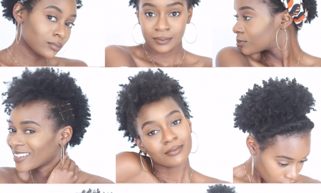 8 Easy Protective Hairstyles For Short Natural 4c Hair That Will Not