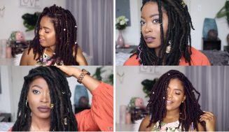 2 Awesome Crochet Faux Locs Tutorials That'll Make Life Way Easier