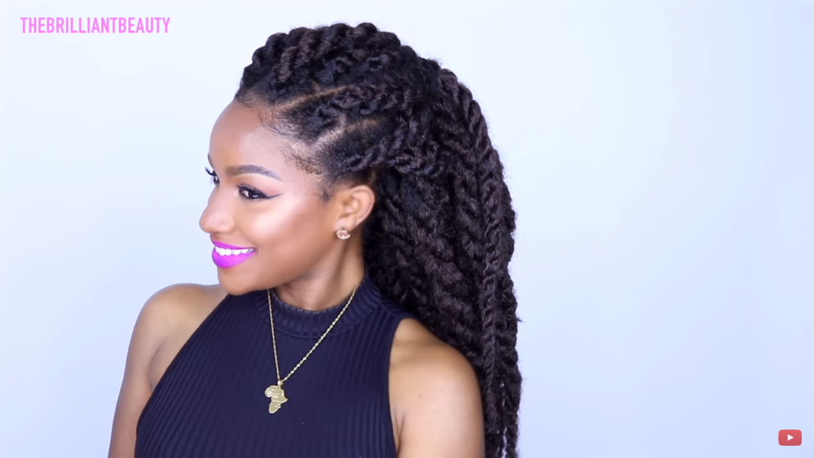 Easy Havana Twist Tutorial For Any Natural Hair Types