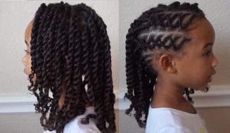Glamorous Back To School Crossover Braided Hair – Watch And Be Inspired!