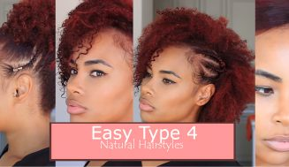 Running Late? Here Are 4 Easy Hairstyles For Type 4 Natural Hair