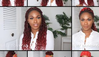 Video Shows 13 Styles & Reasons Why You Should Get Crochet Goddess Faux Locs This Holiday