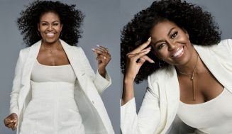 Look At First Lady Michelle Obama Rocks Her Natural Curly Hair On The Cover Of Essence