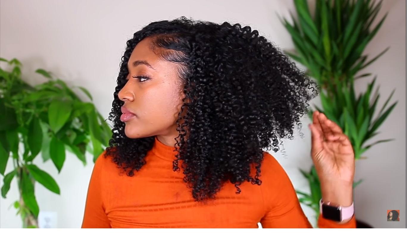 wash n go curly hair