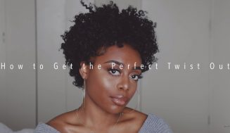 It Only Took A Wash And KeraCare's New Curlessence Line To Create This Perfect Twist-Out