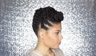 Simple And Imaginative Flat Twist Updos… Looks Amazing!