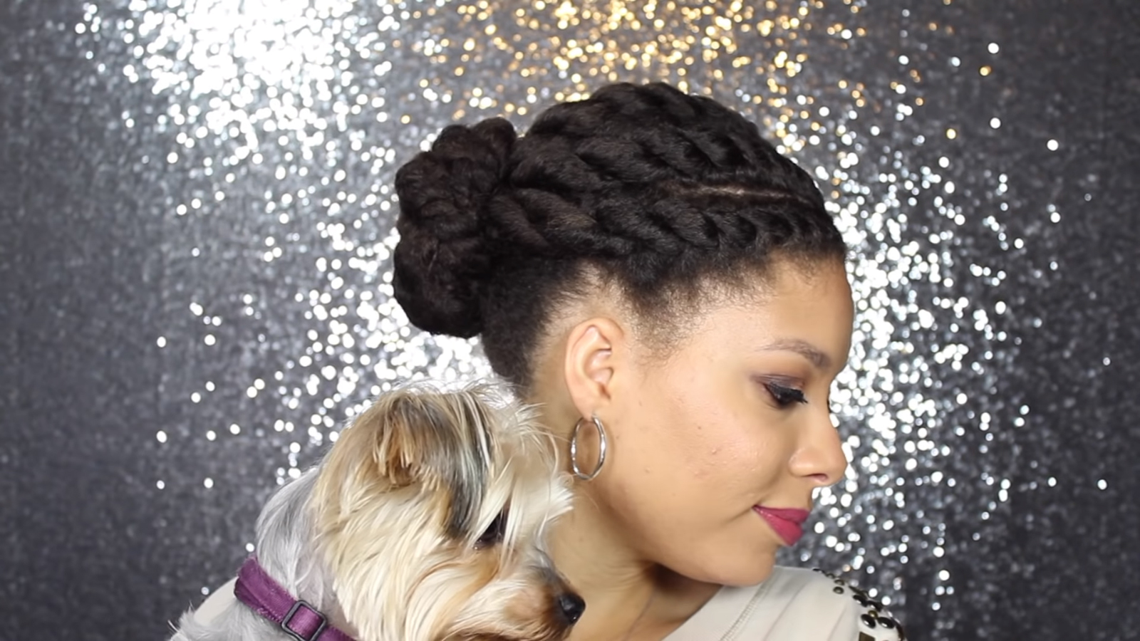 Simple And Imaginative Flat Twist Updos... Looks Amazing