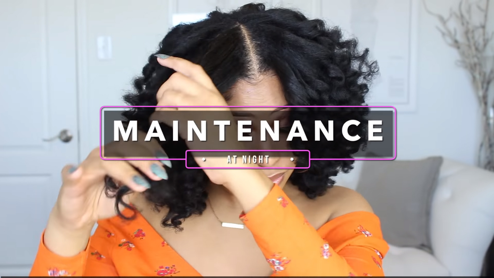 maintaining no heat curls on natural hair
