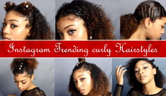 How To Use Accessories To Create Gorgeous Instagram Trending Curly Hairstyles