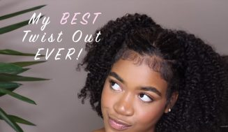 Incredible Way To Turn An Old Protective Style Into A Great Twist Out