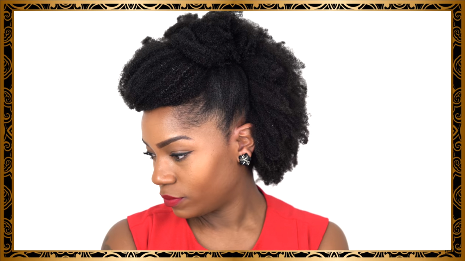 Six Fabulous Hairstyles For Medium Length Natural Hair Great For All Occasion African American Hairstyle Videos Aahv