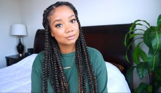 Beginner Friendly Jumbo Box Braids W/ Highlights And No Rubber Bands