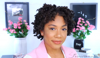 Creating The Perfect Two-Strand Twists On Short Natural Hair