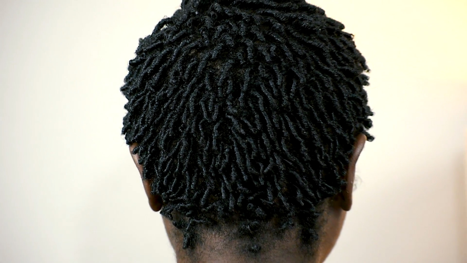 Finger Coils On Short Natural 4C Hair