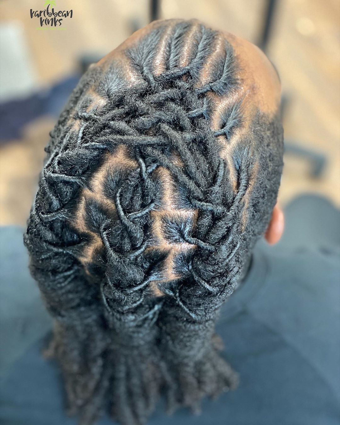 Braided Locs Styling