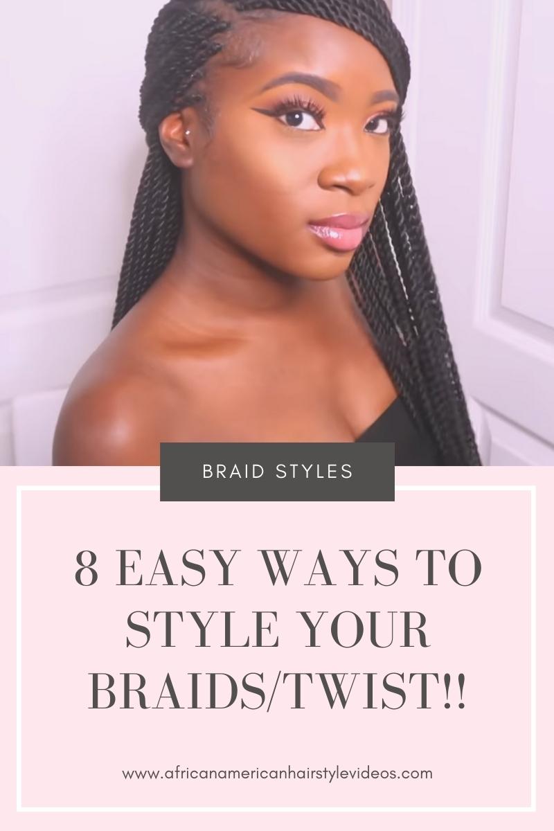 braids & twists hairstyles