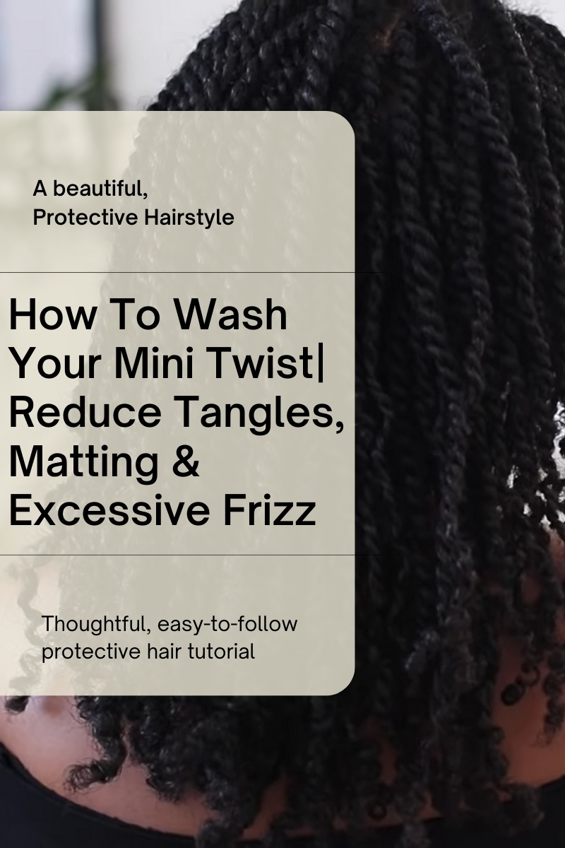 how to wash mini twists