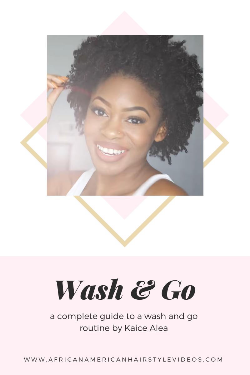 wash and go routine