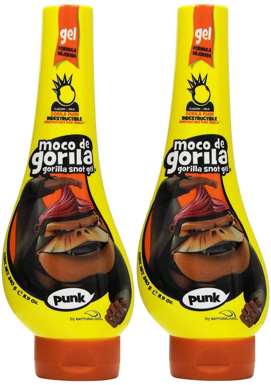 Moco de Gorila Estilo Punk Extreme Hold Gel