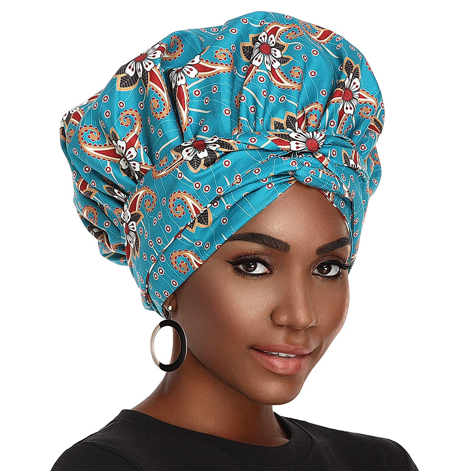 Satin Bonnet for Women, Silk Bonnet for Curly Hair Bonnet