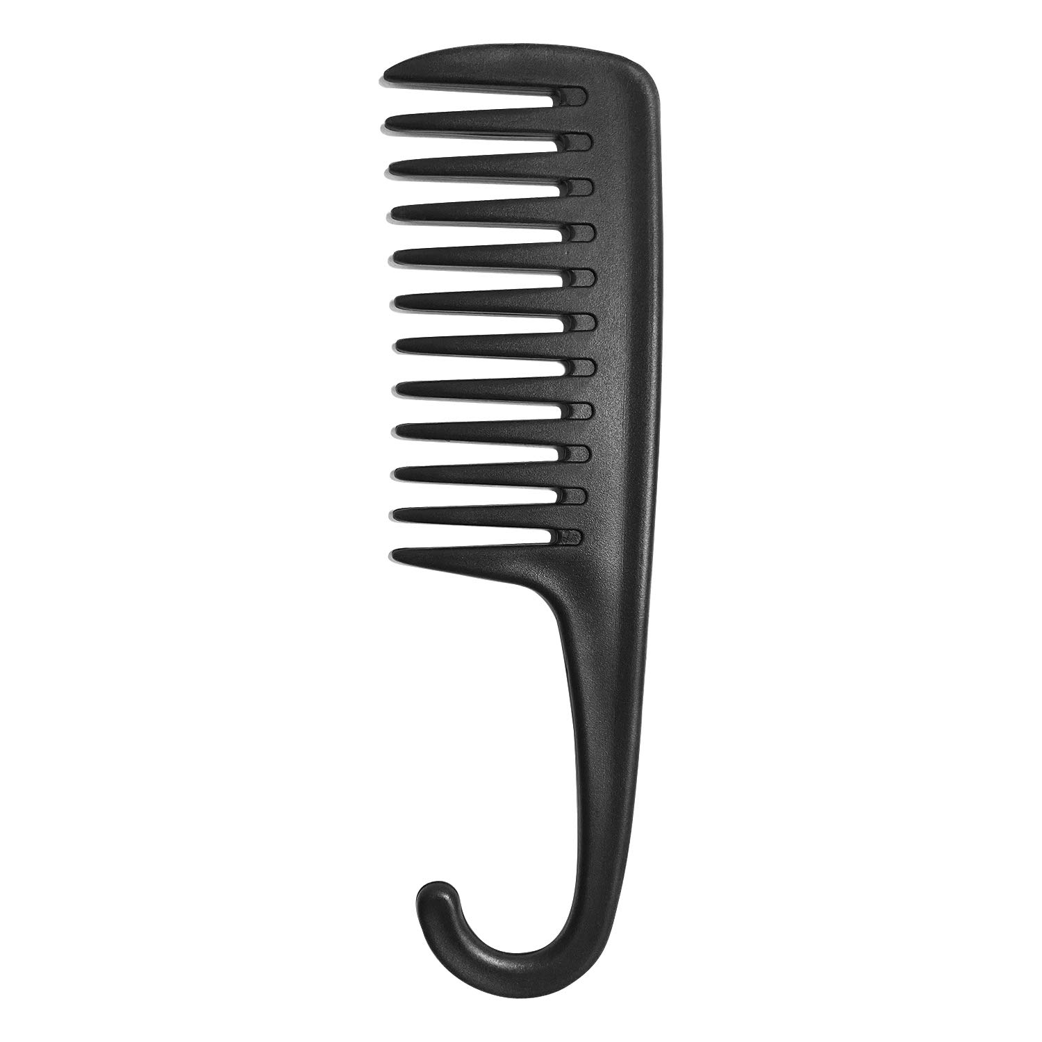 Wapodeai Wide Tooth Comb Shower Comb With Hook