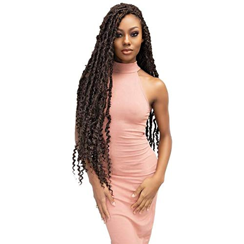 "Janet Collection: Nala Tress Maverick Locs 18"" (1 PACK, 1B)"