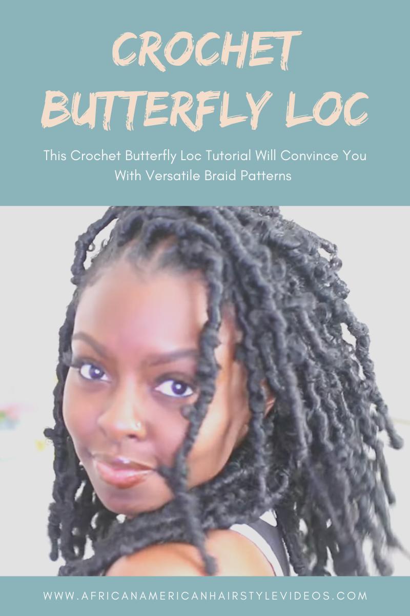 Crochet Butterfly Loc