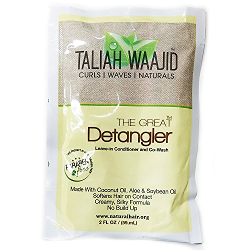 Taliah Waajid The Great Detangler Leave-in Conditioner and Co-Wash, 2 Ounce