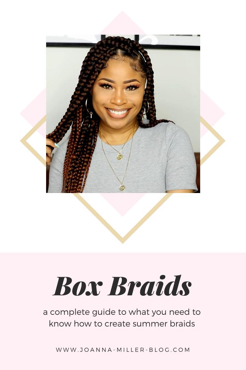 Easy box braids