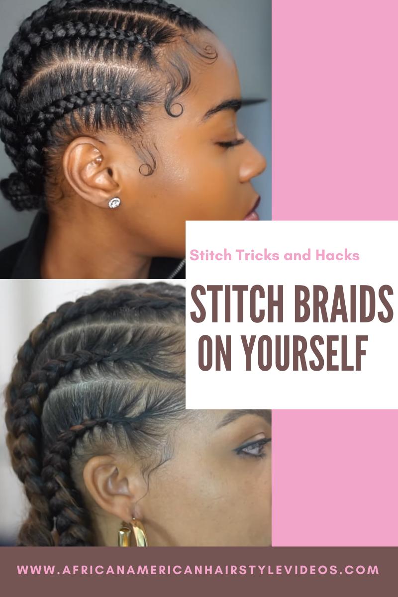 Feedin stitch braids